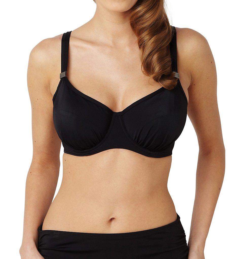 Panache SW0882 Anya Balconnet Bikini Swim Top (Black)