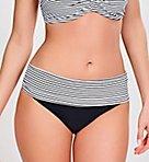 Anya Stripe Folded Swim Bottom
