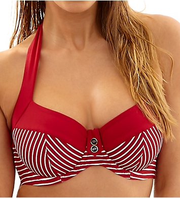 Panache Britt Halter Bikini Swim Top