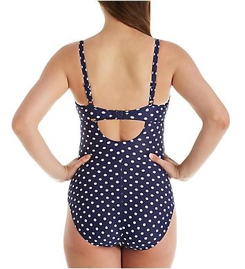 Panache Anya Spot Swimsuit Swimming Costume SW1010 Navy//Ivory Swimwear