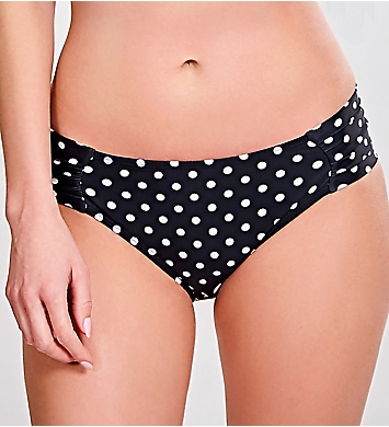 Panache Anya Spot Gathered Swim Bottom