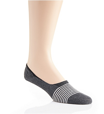 Pantherella Egyptian Cotton Striped Invisible Sock