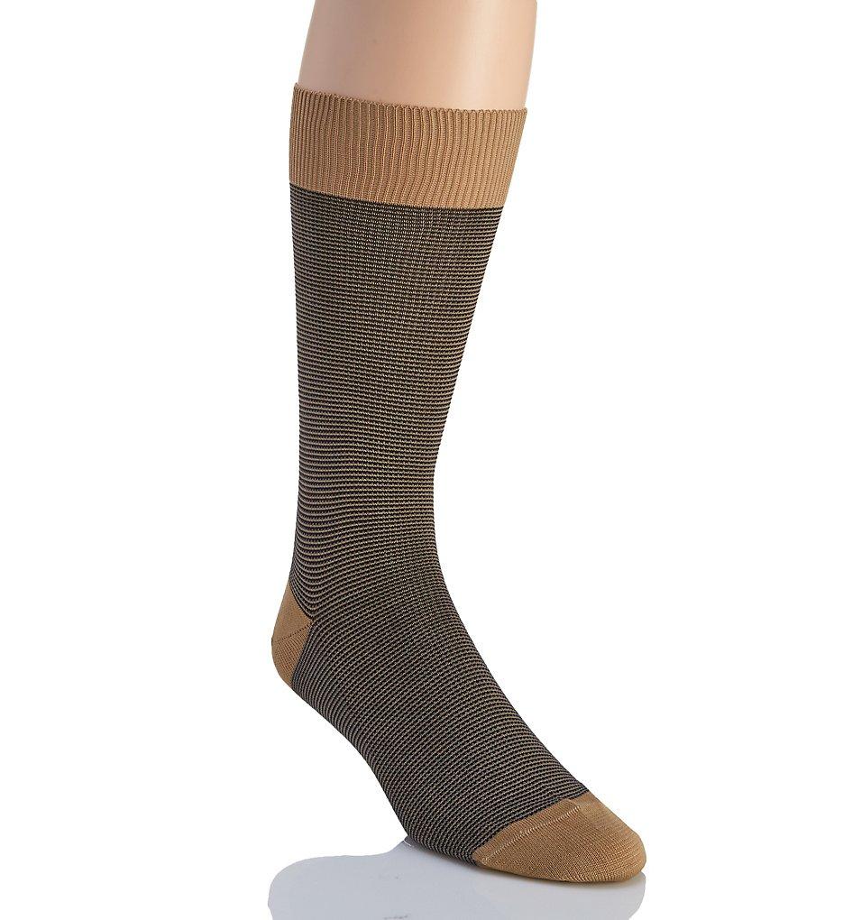 pantherella 53209 tewkesbury 3 colour birdseye sock (light khaki l)