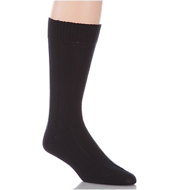 Pantherella Luxury Egyptian Cotton Rib Sock