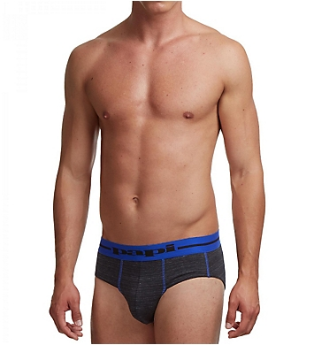 Papi In Training Heathered Euro Brief