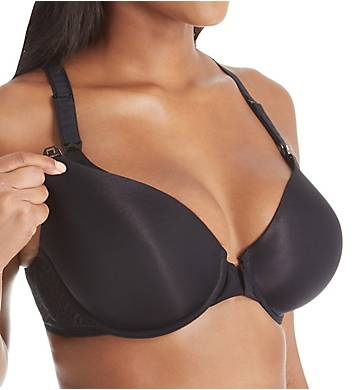 Paramour by Felina Lorraine Front Close Nursing Bra with Wicking