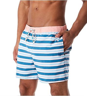 Party Pants Kennedy Stripe Swim Trunk