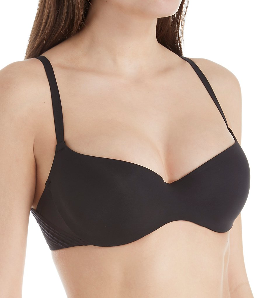 Passionata by Chantelle - Passionata by Chantelle 4088 Freedom Demi Push Up Bra (Black 32A)