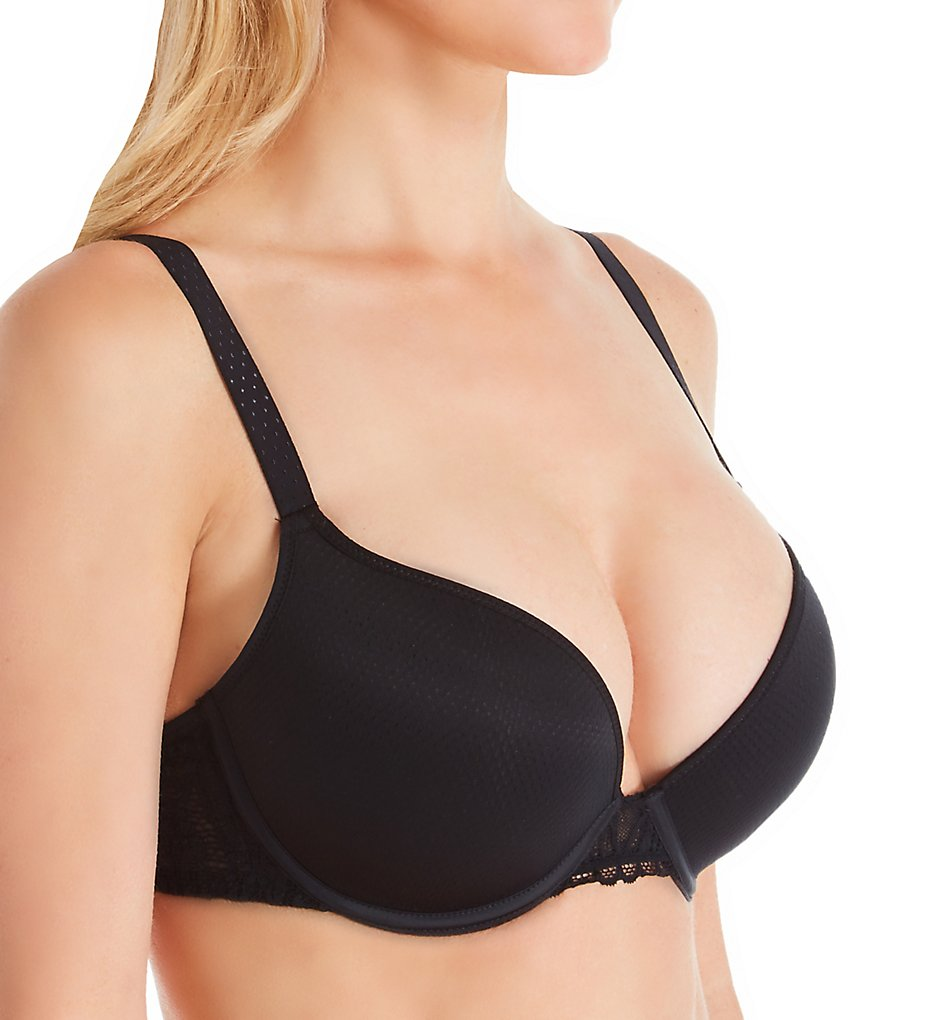 Passionata by Chantelle >> Passionata by Chantelle 40C2 Ironic Push Up Bra (Black 34A)