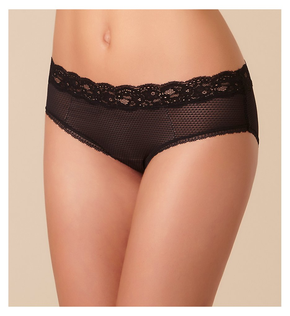 Passionata by Chantelle : Passionata by Chantelle 5704 Brooklyn Hipster Panty (Black XS)
