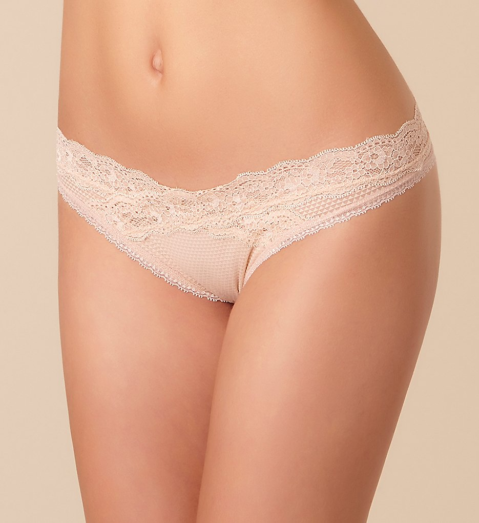 Passionata by Chantelle - Passionata by Chantelle 5707 Brooklyn Tanga Panty (Light Nude XS)