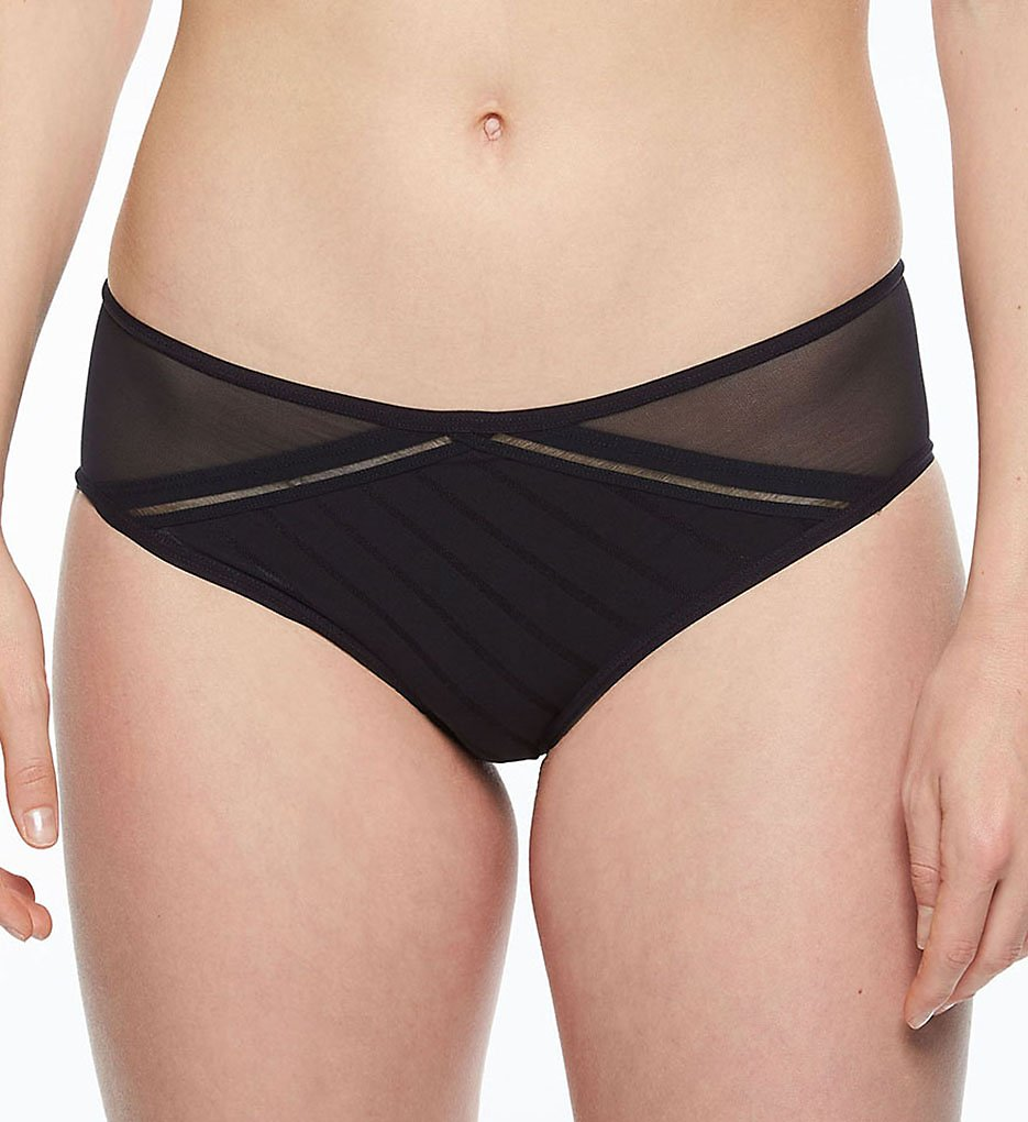 Passionata by Chantelle - Passionata by Chantelle 7844 Graphic Hipster Panty (Black XS)