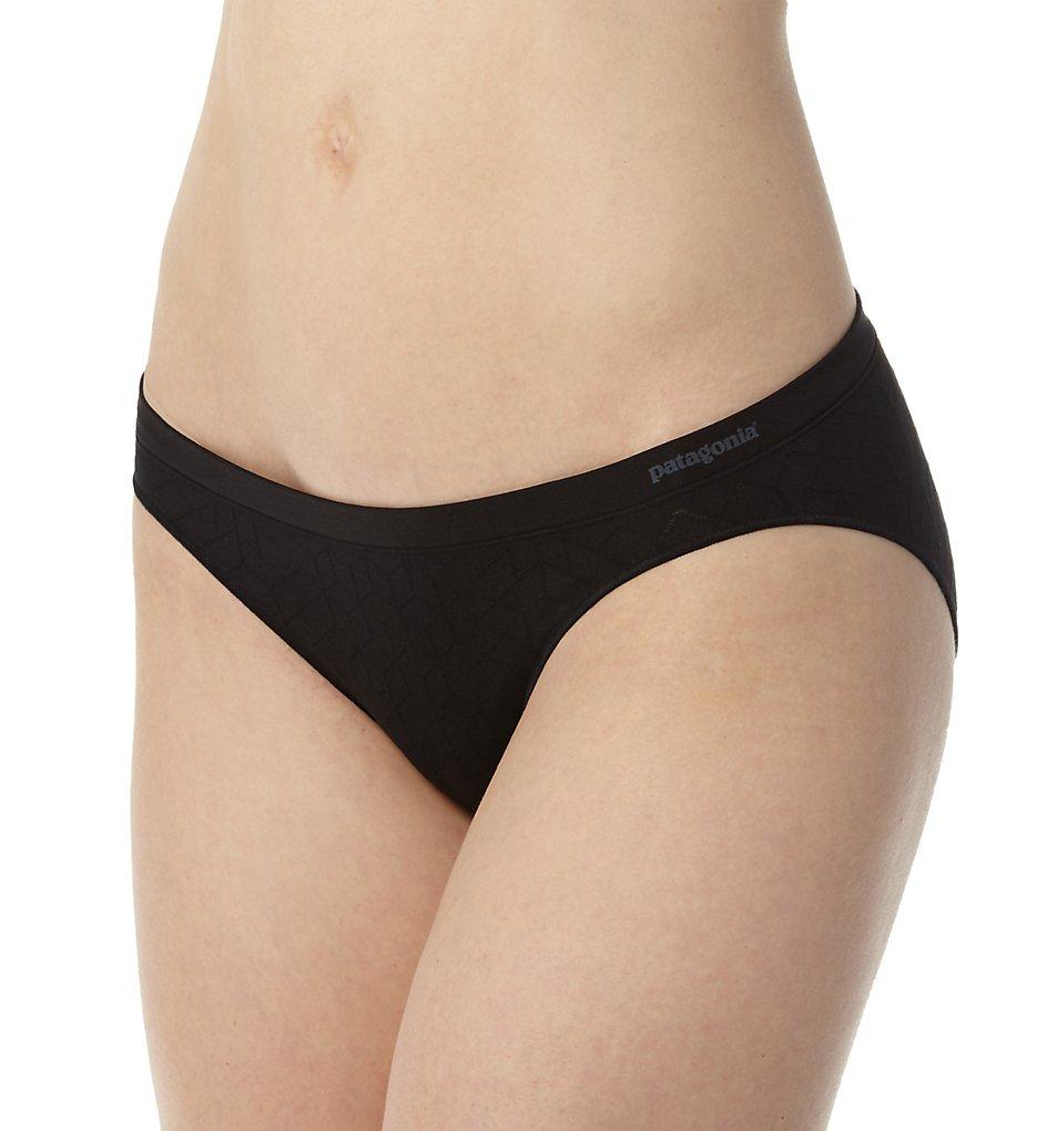Patagonia : Patagonia 32391 Body Active Barely Bikini Panty (Geo Diamond Black XL)