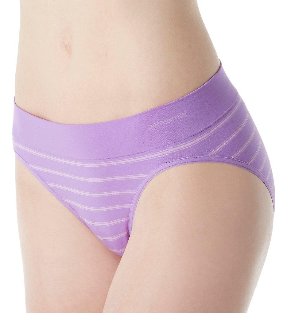 Patagonia - Patagonia 32396 Body Active Brief Panty (Stripe Light Acai XL)