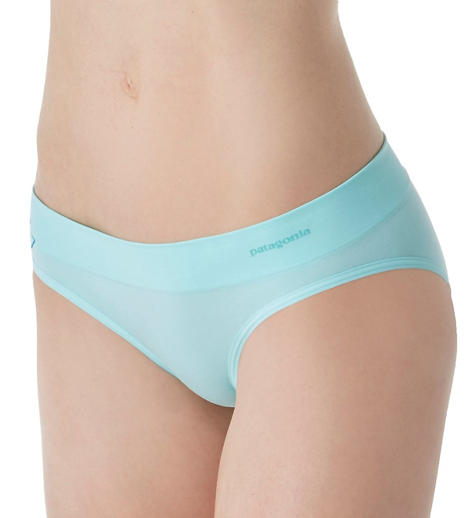 Patagonia (2125183) - Patagonia 32410 Body Active Hipster Panty (Graphic Bend Blue L)