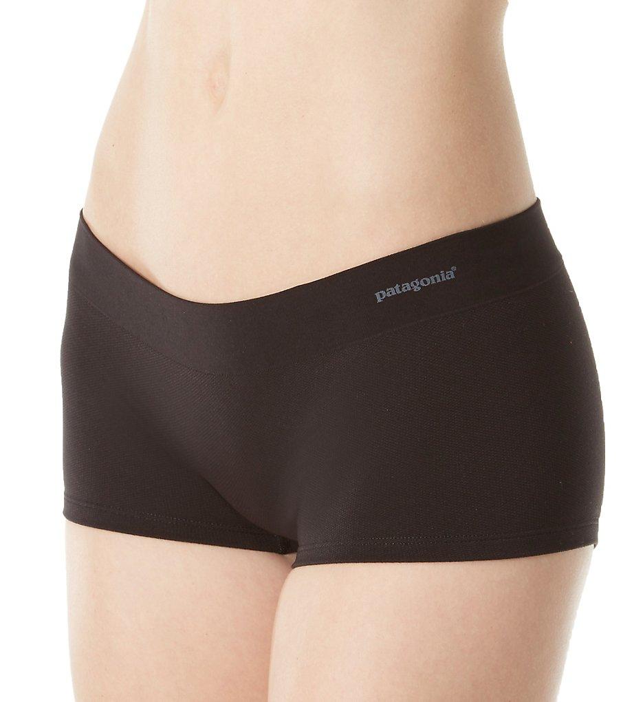 Patagonia - Patagonia 32417 Body Active Mesh Boyshort Panty (Black XL)
