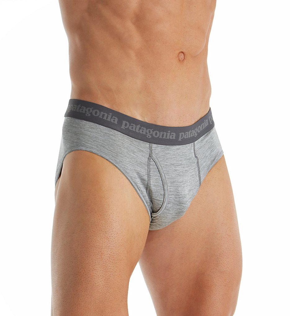 patagonia 32455 capilene daily performance brief (feather grey 2xl)