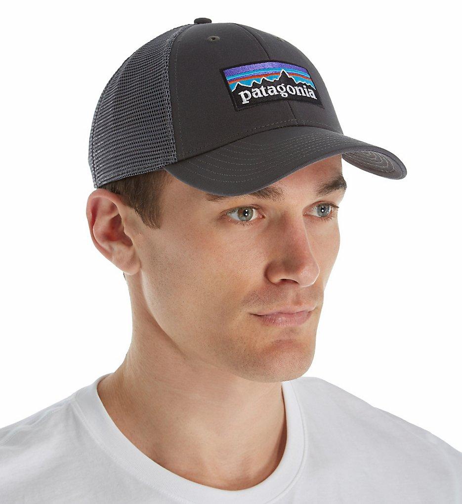 9644725406c Patagonia 38016 P-6 Logo LoPro Organic Cotton Canvas Trucker Hat (Forge  Grey)