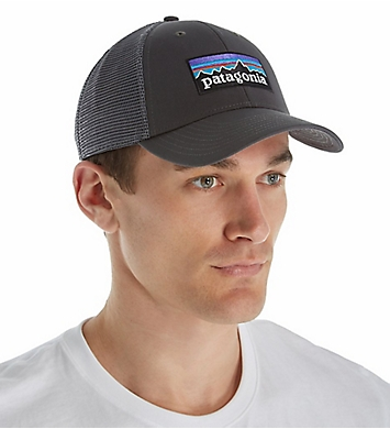 Patagonia P-6 Logo LoPro Organic Cotton Canvas Trucker Hat