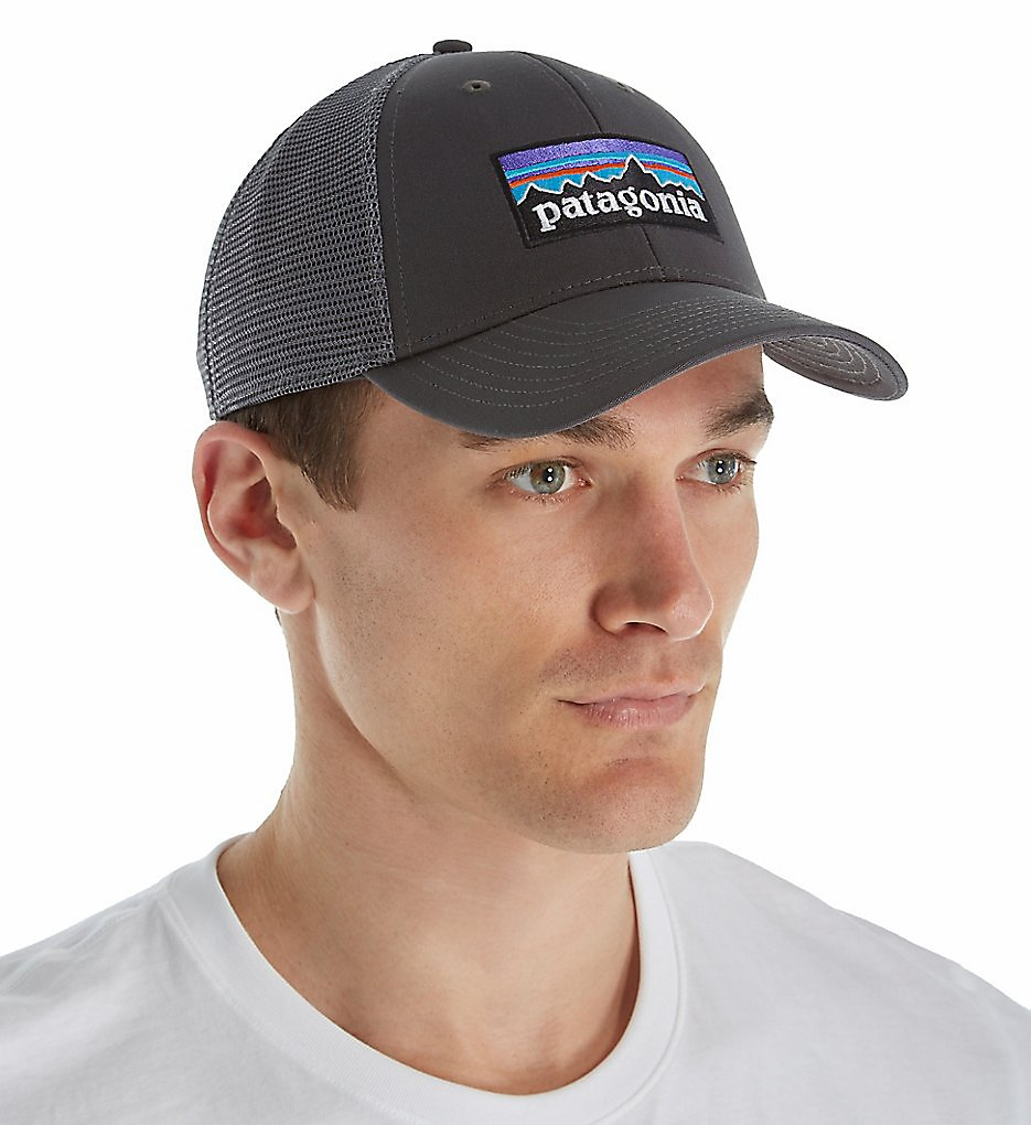 27f5090d39709 Patagonia P-6 Logo LoPro Organic Cotton Canvas Trucker Hat 38016 ...