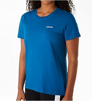 Patagonia P-6 Logo Organic Crew T-Shirt