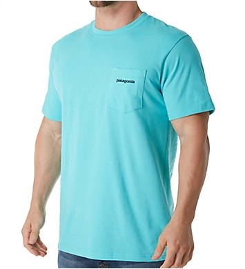 Patagonia P-6 Pocket Logo 100% Organic Cotton T-Shirt
