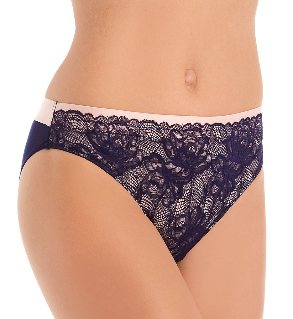 Perfects Australia - Perfects Australia 14BK103 Caroline Bikini Panty (Eclipse/Strawberry S)