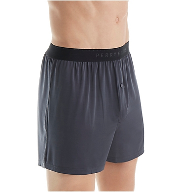Perry Ellis Luxe Solid Boxer Shorts - 3 Pack