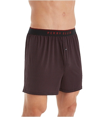 Perry Ellis Luxe Neat Print Boxer Short