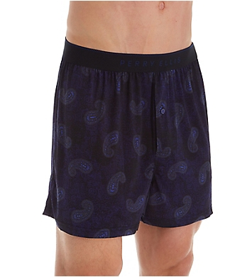 Perry Ellis Paisley Luxe Boxer Short