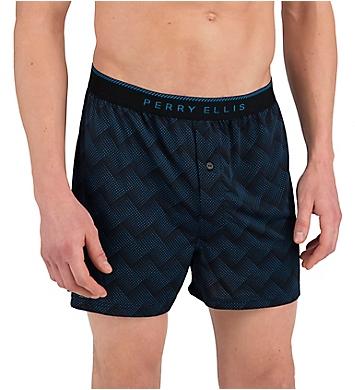 Perry Ellis Luxe Tidal Boxer Short