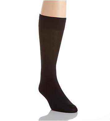 Perry Ellis Microfiber Luxury Flat Knit Sock
