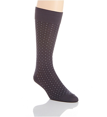 Perry Ellis Microfiber Luxury Small Dot Sock