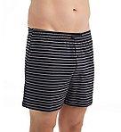 Cotton Knit Dual Striped Boxer Short