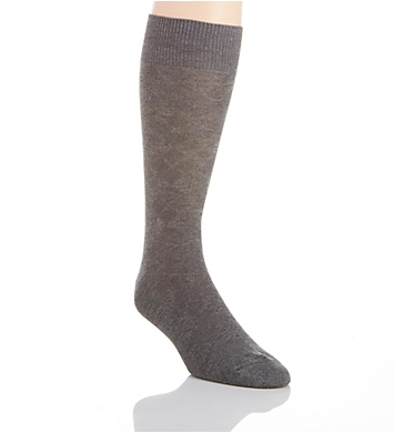 Perry Ellis Superior Soft Luxury Tex Argyle Logo Sock
