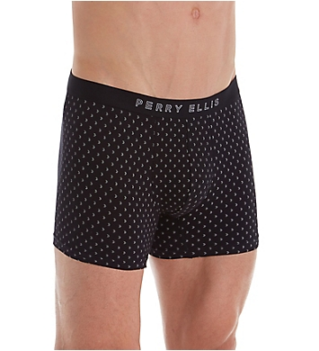 Perry Ellis Arrow Tip Cotton Stretch Boxer Briefs - 3 Pack