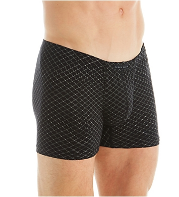 Perry Ellis Portfolio Cotton Stretch Boxer Briefs - 4 Pack