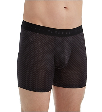 Perry Ellis Luxe Circuit Print Boxer Brief