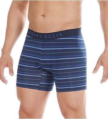 Perry Ellis Luxe Digital Stripe Boxer Brief