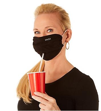 PJ Harlow Jersey Grazer Mask with Lift Tab