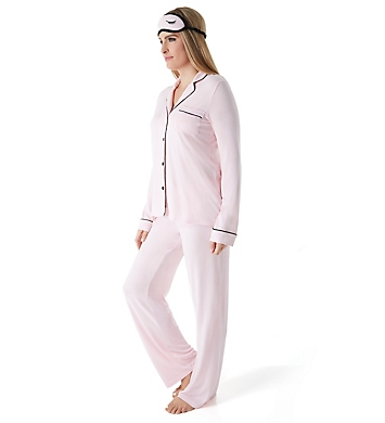 PJ Salvage Be Love Basics PJ Set with Matching Eyemask