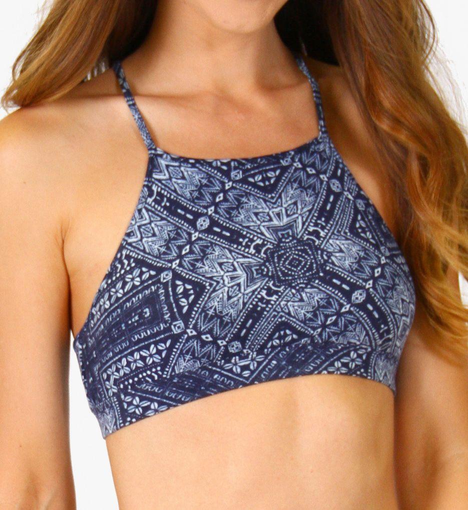 PJ Salvage Blue Batik Bralette