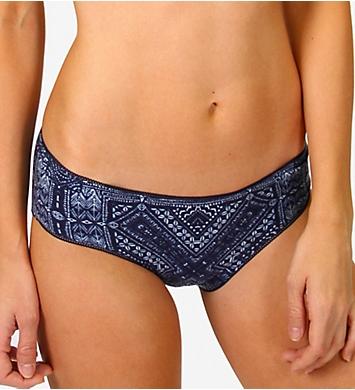 PJ Salvage Blue Batik Hipster Panty