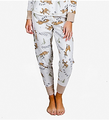 PJ Salvage Achoo! Reindeer Fleece Sleep Pant