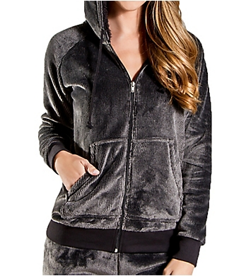 PJ Salvage Cozy Zip-Up Hoodie