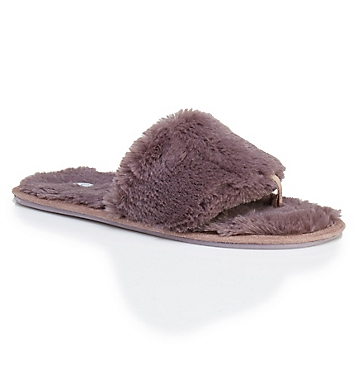 PJ Salvage Faux Fur Slides Slipper
