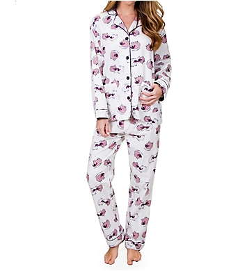 PJ Salvage Fantastic Flannels Sheepy Time Pajama Set