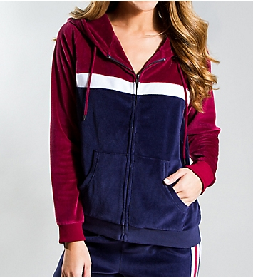 PJ Salvage Track Star Zip-Up Jacket