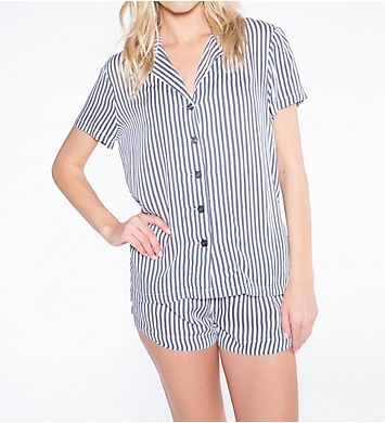 PJ Salvage Simple Stripes Sleep Set