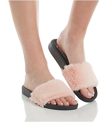 PJ Salvage Faux Fur Slides Sandal